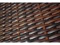 Leżanka ogrodowa z technorattanu ESIGENTE Z regulowanym oparciem wiklina tkanina Metal ogrodowe Aluminium Styl klasyczny