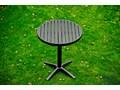 Mały zestaw balkonowy BUONO metal Stal Stoły z krzesłami ogrodowe balkonowe Zawartość zestawu Krzesła Aluminium drewno Rattan wiklina Technorattan Zawartość zestawu Stół