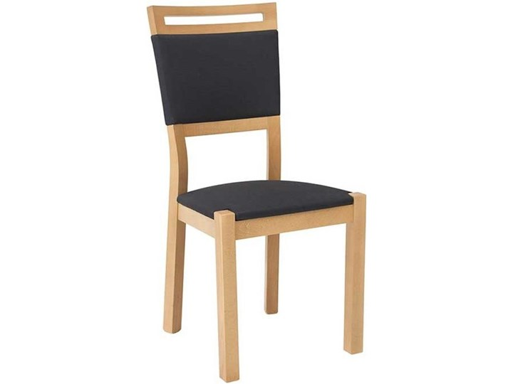 Krzesło Tapicerowane Wygodne Arosa Black Red White Krzesła