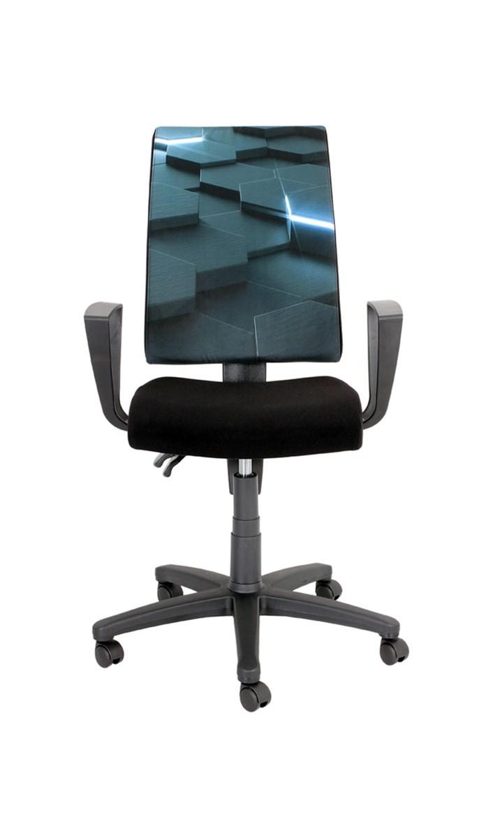 Krzesło Obrotowe Proxima Virtual Black Red White Krzesła Do