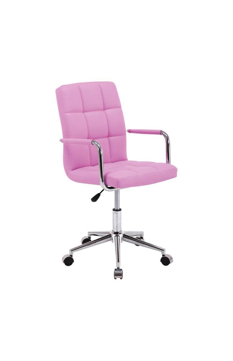 Krzesło Obrotowe Q 22 Różowy Black Red White Krzesła I Fotele