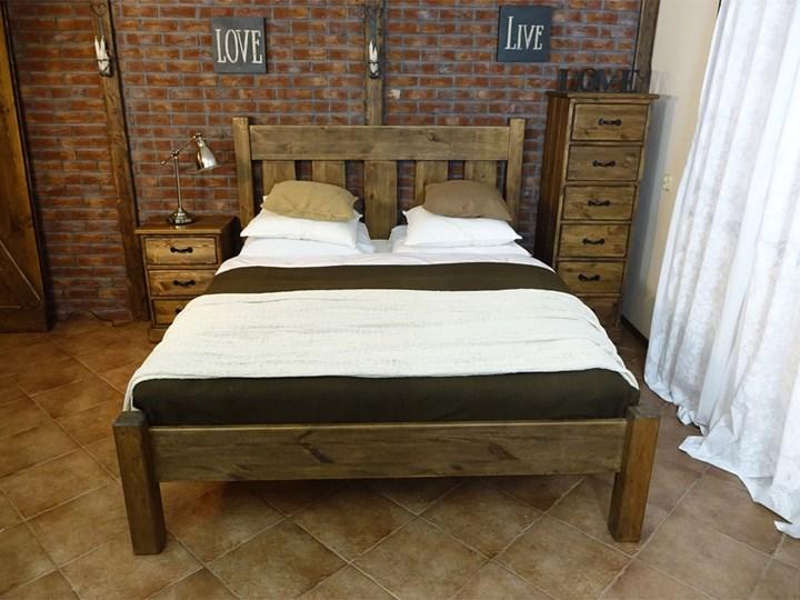 Łóżko Sosnowe Rustyk / Mieszko II 140 Kategoria Łóżka do sypialni Łóżko drewniane Rozmiar materaca 140x200 cm