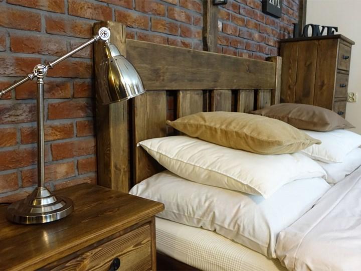 Łóżko Sosnowe Rustyk / Mieszko II 140 Łóżko drewniane Kategoria Łóżka do sypialni