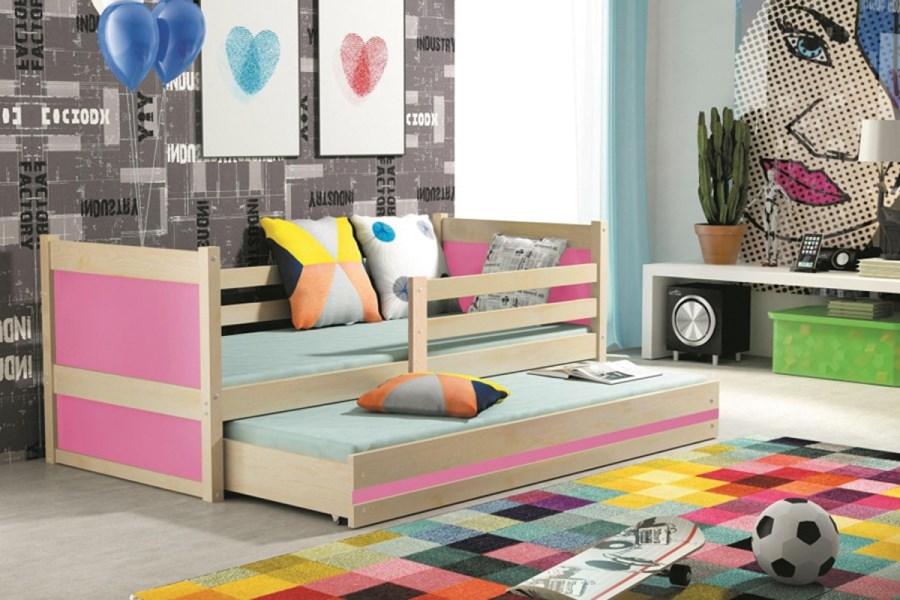 łóżko Oliwier 2 Os Dwupoziomowe 200 X 90