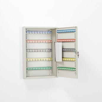 Szafka na klucze ROWLEY, 100 haczyków, 550x380x80 mm