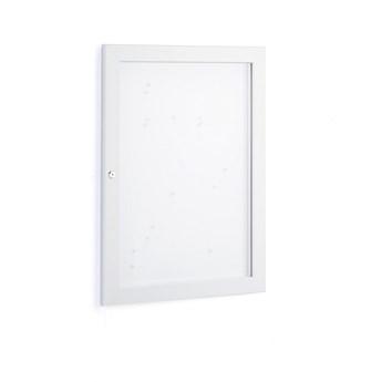 Gablota informacyjna ETHEL, zamykana, 770x590x30 mm