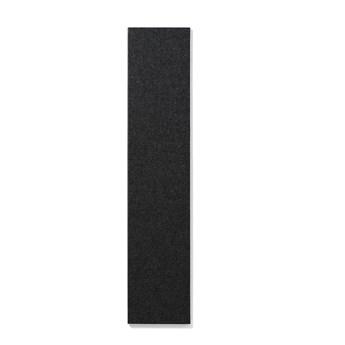 Tablica informacyjna AIR, bez ramy, 250x1190 mm, ciemnoszary