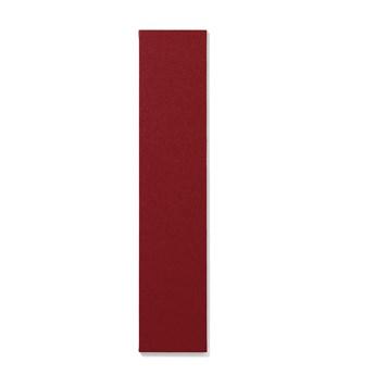 Tablica informacyjna AIR, bez ramy, 250x1190 mm, czerwony