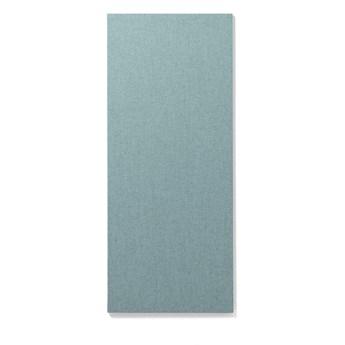 Tablica informacyjna AIR, bez ramy, 500x1190 mm, jasnoniebieski