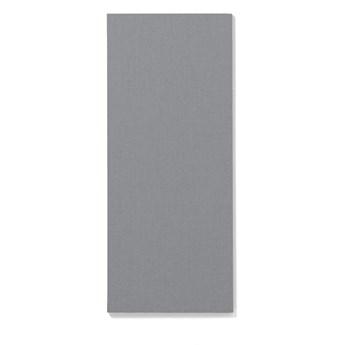 Tablica informacyjna AIR, bez ramy, 500x1190 mm, jasnoszary
