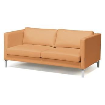 Sofa wypoczynkowa NEO, 3-osobowa, skóra naturalna, nude