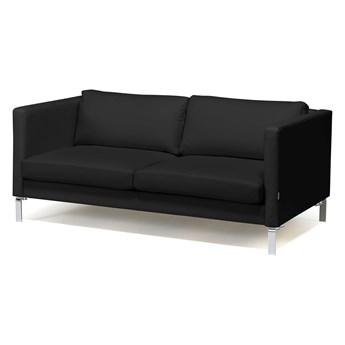 Sofa wypoczynkowa NEO, 2-osobowa, skóra naturalna, czarny