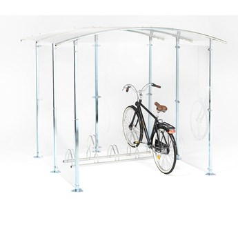 Wiata na rowery, 2200x2150x2150 mm