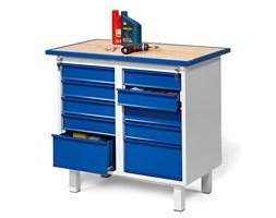 Stół narzędziowy FLEX, na nóżkach, 10 szuflad