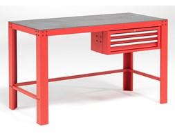 Stół warsztatowy, 3 szuflady, 1000 kg, 700x1515 mm, czerwony