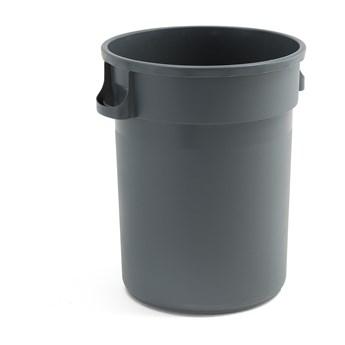 Kosz na śmieci DOUGLAS, 120 L, szary