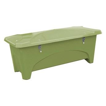Pojemnik do przechowywania na zewnątrz, 1760x750x745 mm, 475 L, zielony