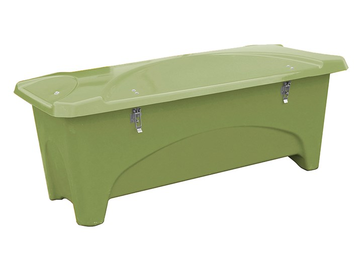 Pojemnik do przechowywania na zewnątrz, 1760x750x745 mm, 475 L, zielony Tworzywo sztuczne Kategoria