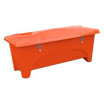 Pojemnik do przechowywania na zewnątrz, 2400x950x950 mm, 1000 L, pomarańczowy