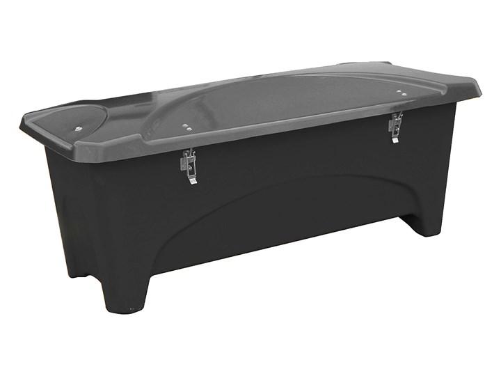 Pojemnik do przechowywania na zewnątrz, 2400x950x950 mm, 1000 L, czarny Tworzywo sztuczne Kategoria Styl Nowoczesny