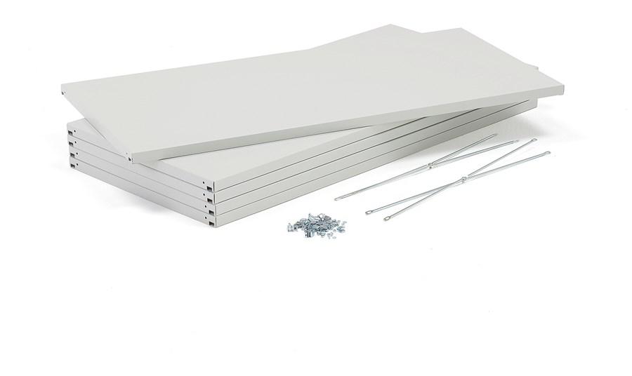 Galwanizoane Półki Dodatkowe 600x1000mm 5 Szt