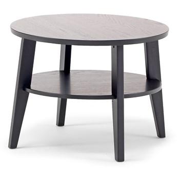 Stolik kawowy HOLLY, Ø600x500 mm, czarny