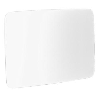 Szklana tablica suchościeralna STELLA, zaokrąglone narożniki, 1500x1000 mm, biały