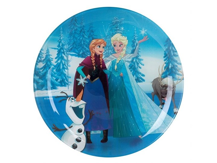 Talerz 20 Cm Frozen Kraina Lodu Magic Luminarc Naczynia Dla Dzieci