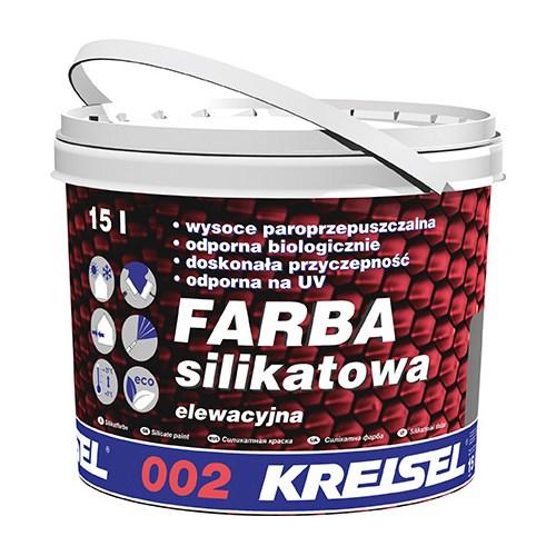 Farba elewacja silikat, kolor 15 L, 002 - Kreisel