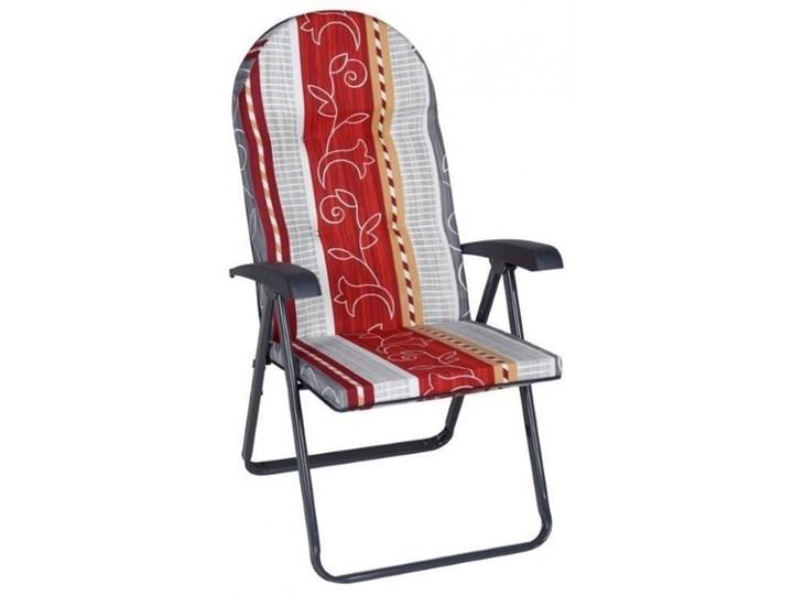 450805 Patio Fotel Ogrodowy Rozkładany 6 Pozycyjny Fotele