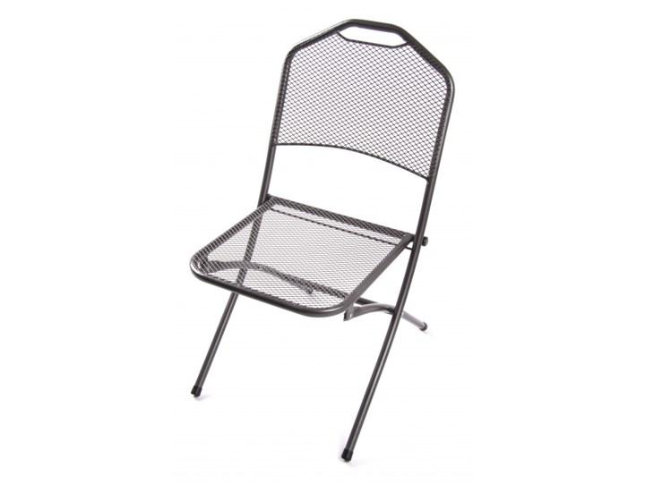 22912 Patio Krzesło Ogrodowe Metalowe Składane Krzesła