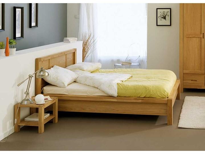 Klasyczne łóżko Dębowe Forest 160x200