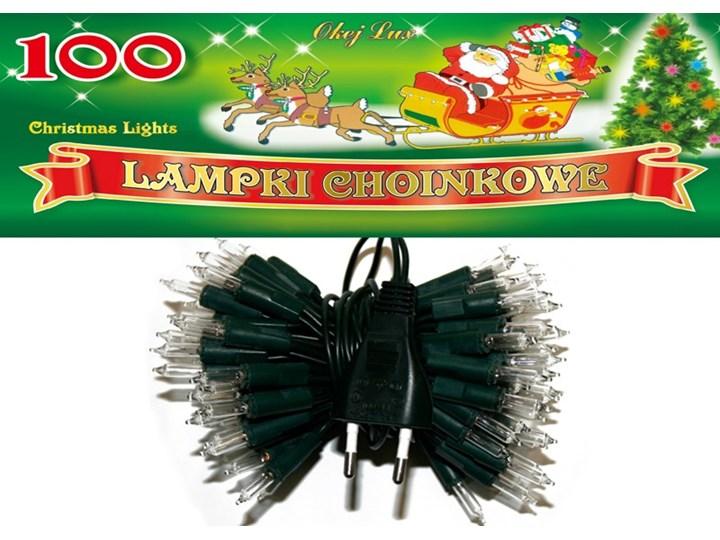 Sznur świetlny 5 M 100 żarówek Wewnętrzne Lampki Choinkowe Oświetlenie świąteczne Nr 0221