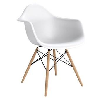 Krzesło POP biały / buk