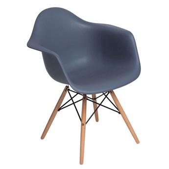 Krzesło POP ciemny popiel / buk