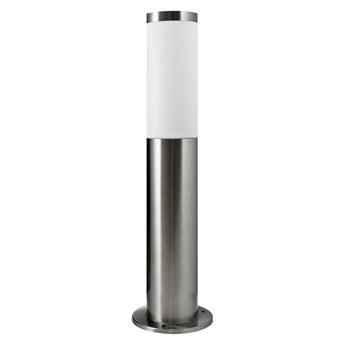 Lampa ogrodowa stojąca LOS IP44 srebrna E27 POLUX