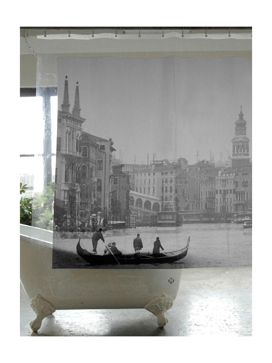 Vintage paris shower curtain - Zas Ona Prysznicowa Wenecja Zas Ony Prysznicowe Zdj Cia