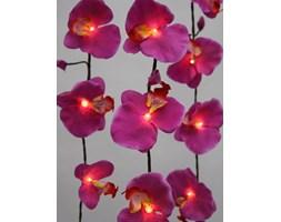Sznur Lampek - Różowe Kwiaty Orchidei