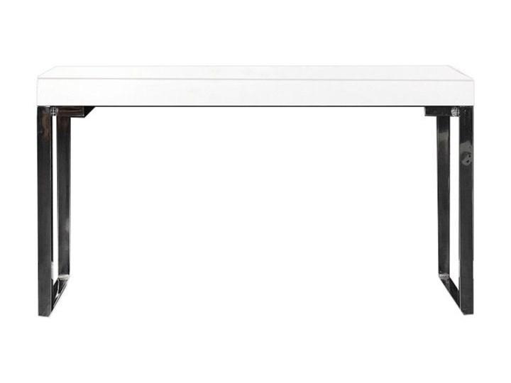Biurko Komputerowe Laptop Stolik Białe Nowoczesne Biurka