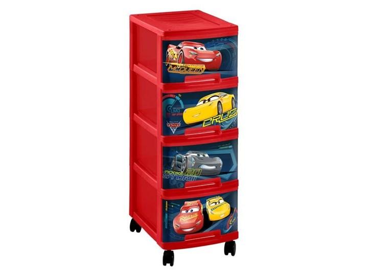 Regał Na Zabawki Dla Dzieci Cars Auta Curver Półki I