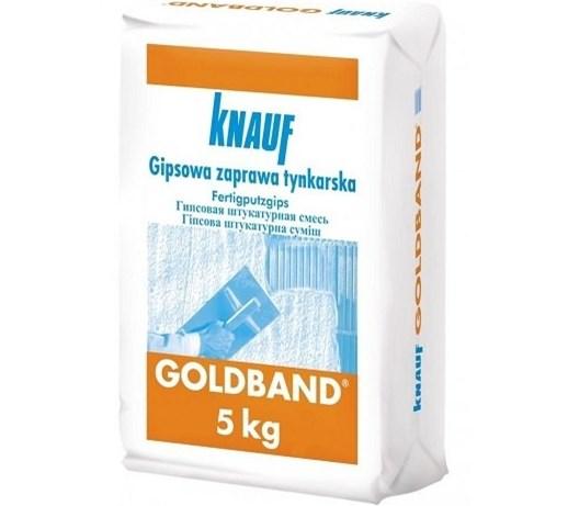 Tynk Zaprawa Tynkarska 5 Kg Goldband Knauf Tynki Wewnetrzne
