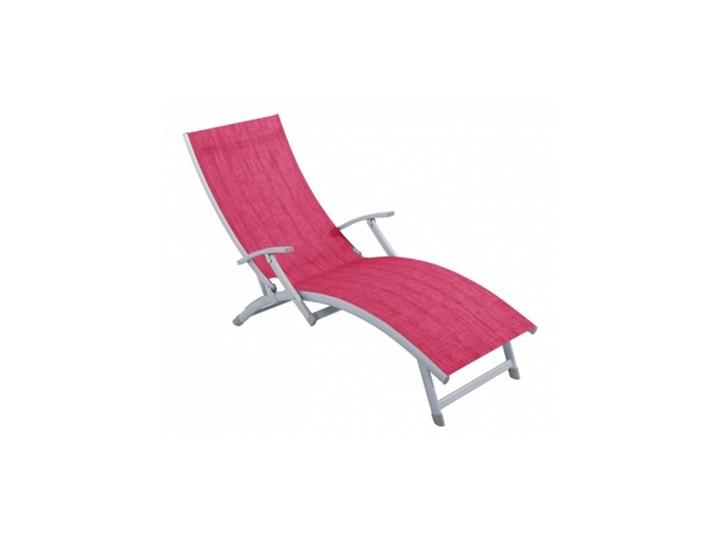 48106 łóżko Leżak Plażowe Ogrodowe Aluminiowe 120k Leżaki