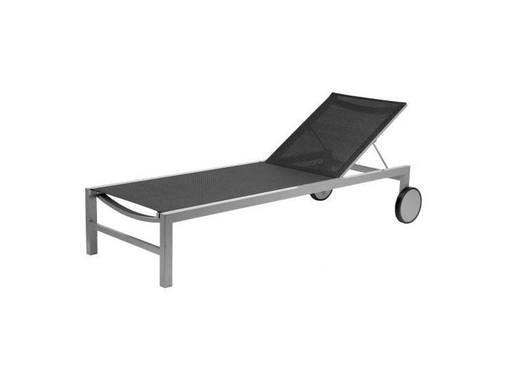 47958 łóżko Leżak Ogrodowe Aluminiowe Kółka Regulo Leżaki