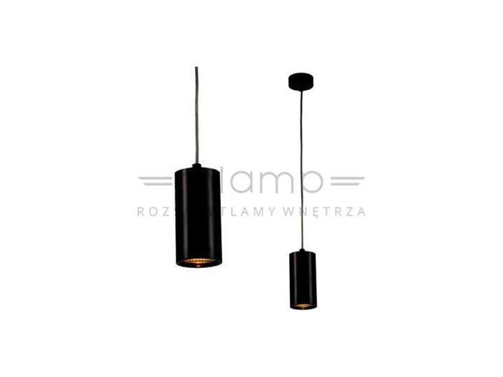 LAMPA wisząca KIKA S 85 Orlicki Design metalowa OPRAWA zwis tuba czarna Lampa inspirowana Styl nowoczesny