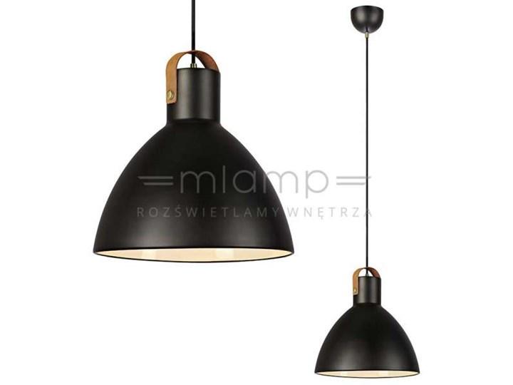 LAMPA wisząca EAGLE 106550 Markslojd metalowa OPRAWA zwis kopuła czarna Lampa inspirowana Styl nowoczesny