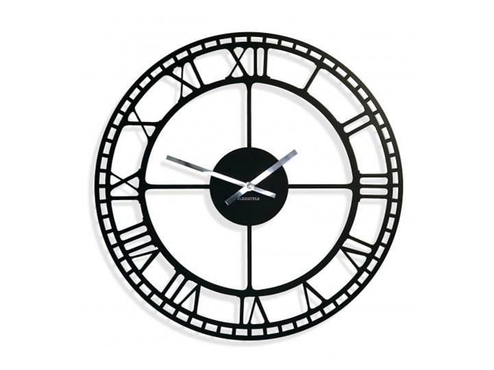 Duży metalowy zegar ścienny retro vintage 50cm
