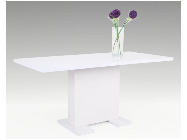 Stół Rozkładany Juli Lakier Biały Wysoki Połysk 120 1608075 Cm