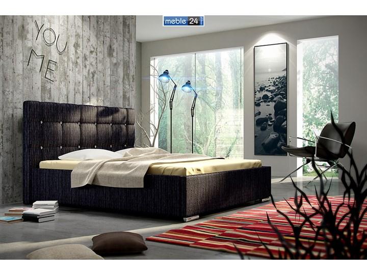 Nowoczesne łóżka Tesso Kryształowe Polibox łóżka Do Sypialni