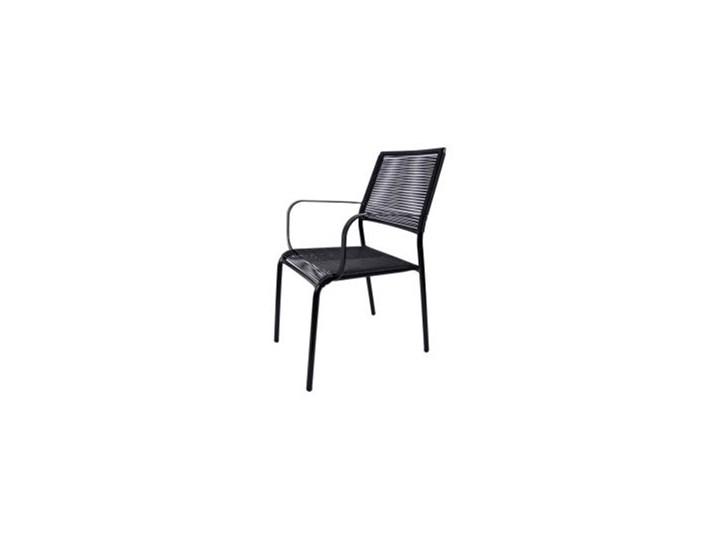 Krzesło Metalowe Czarne Krzesła Ogrodowe Zdjęcia Pomysły