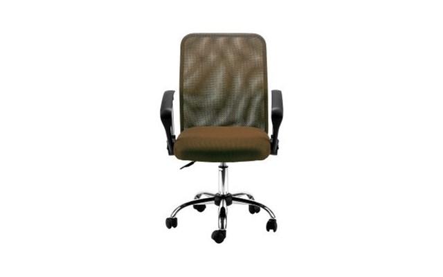 Krzesło biurowe ergonomiczne Kring Eco brązowe
